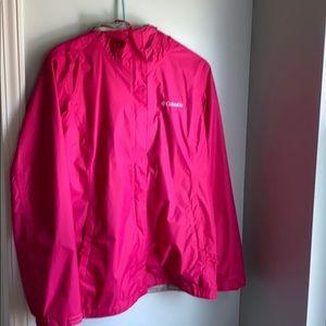Columbia light weight rain jacket